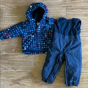 New Columbia Snowsuit 12-18 month